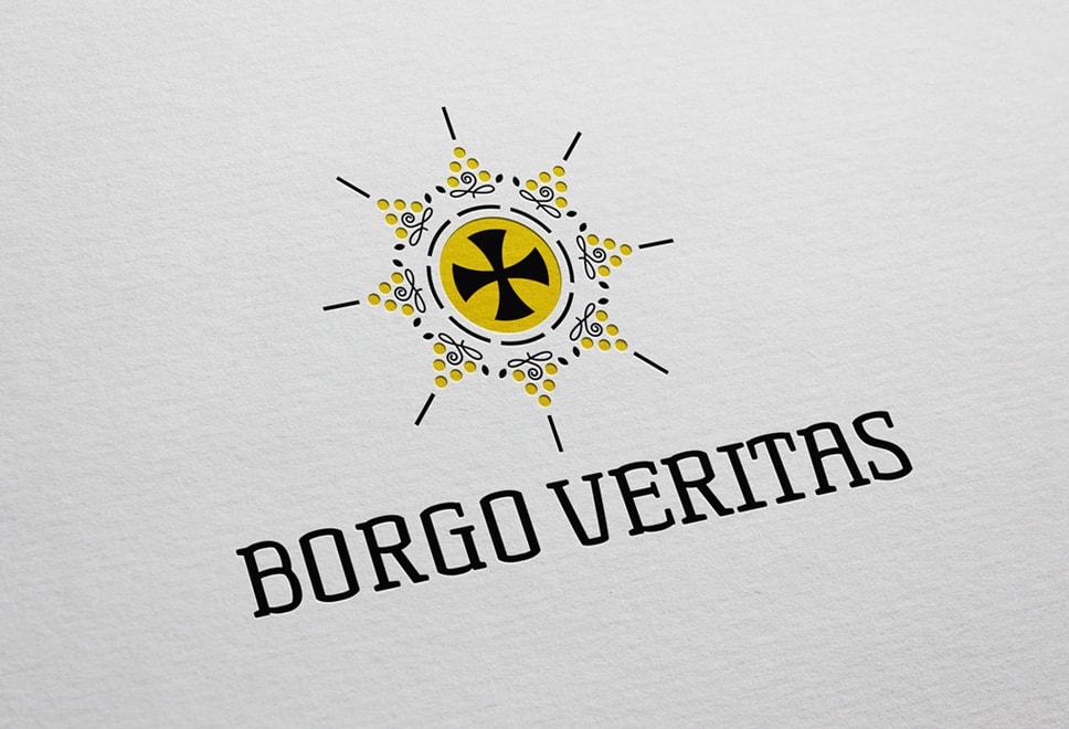 Brand identity Borgo Veritas