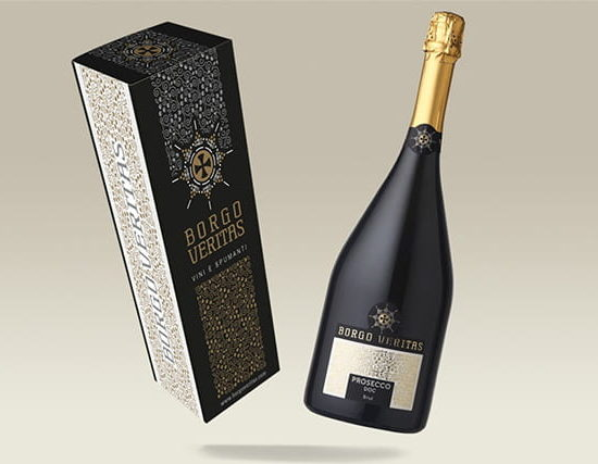 wine packaging ed etichetta borgoveritas