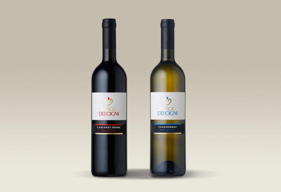 Linea etichette vini tranquilli