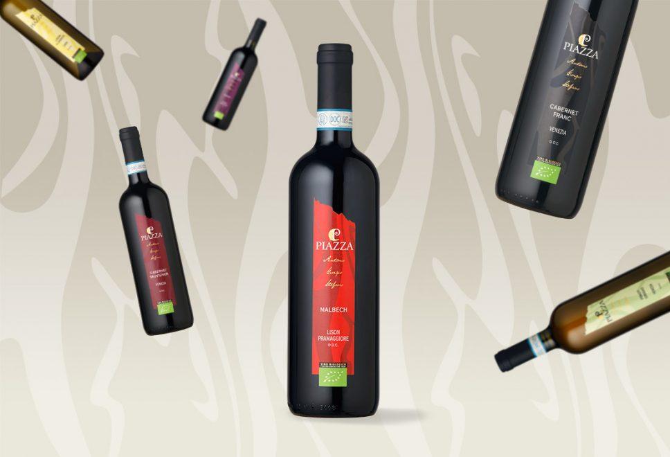 progettazione linea etichette vini fermi