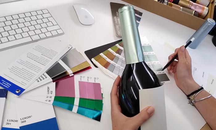 Etichette vino: progetto esecutivo